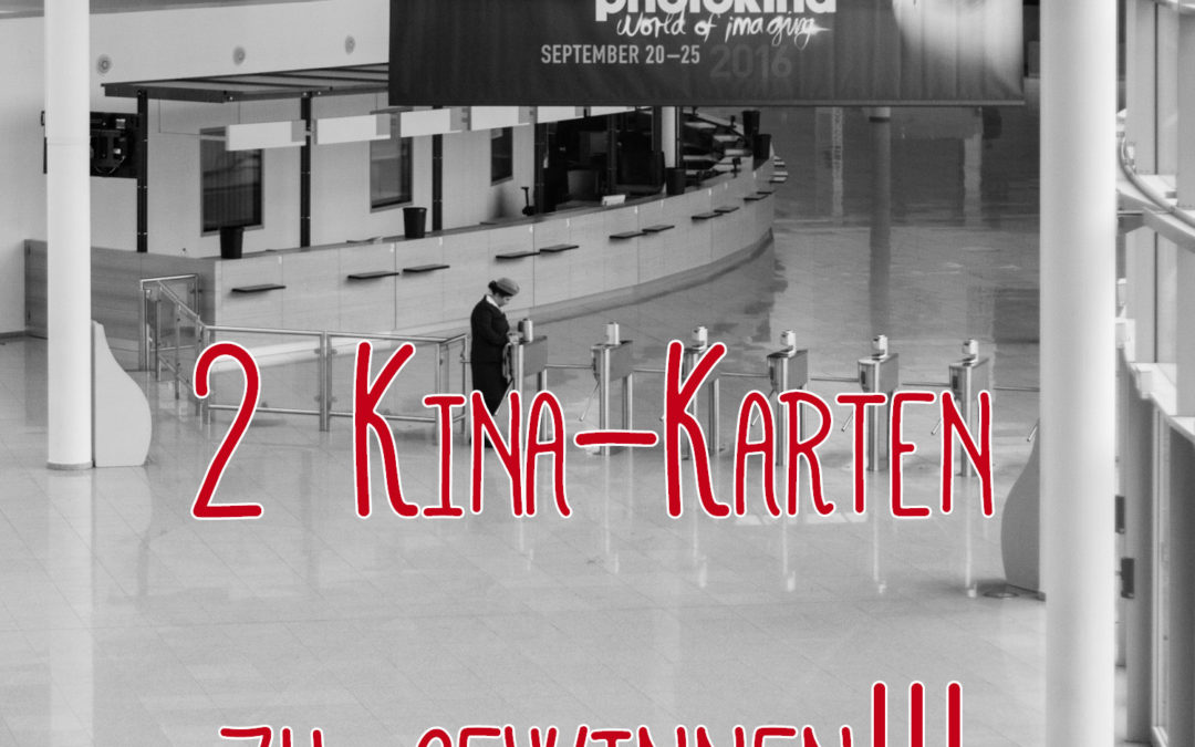 Beendet! Gewinnspiel: 2 Photokina Tickets gewinnen!