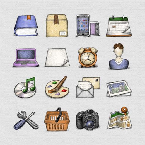 5. Sammlung FREE Icons für kommerzielle Nutzung