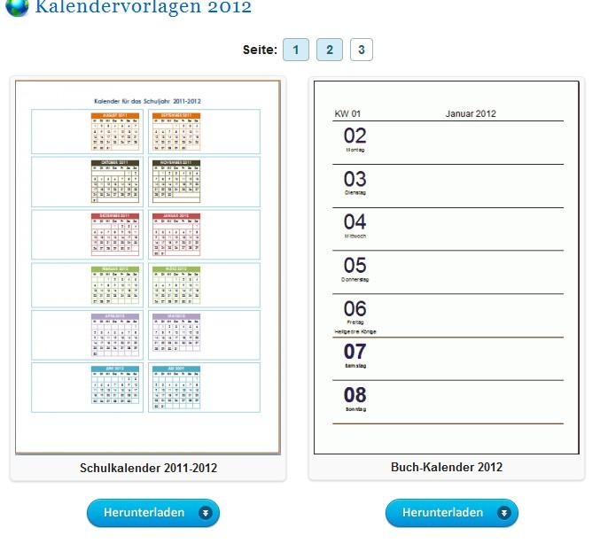 Kalender 2012 mit Photoshop erstellen