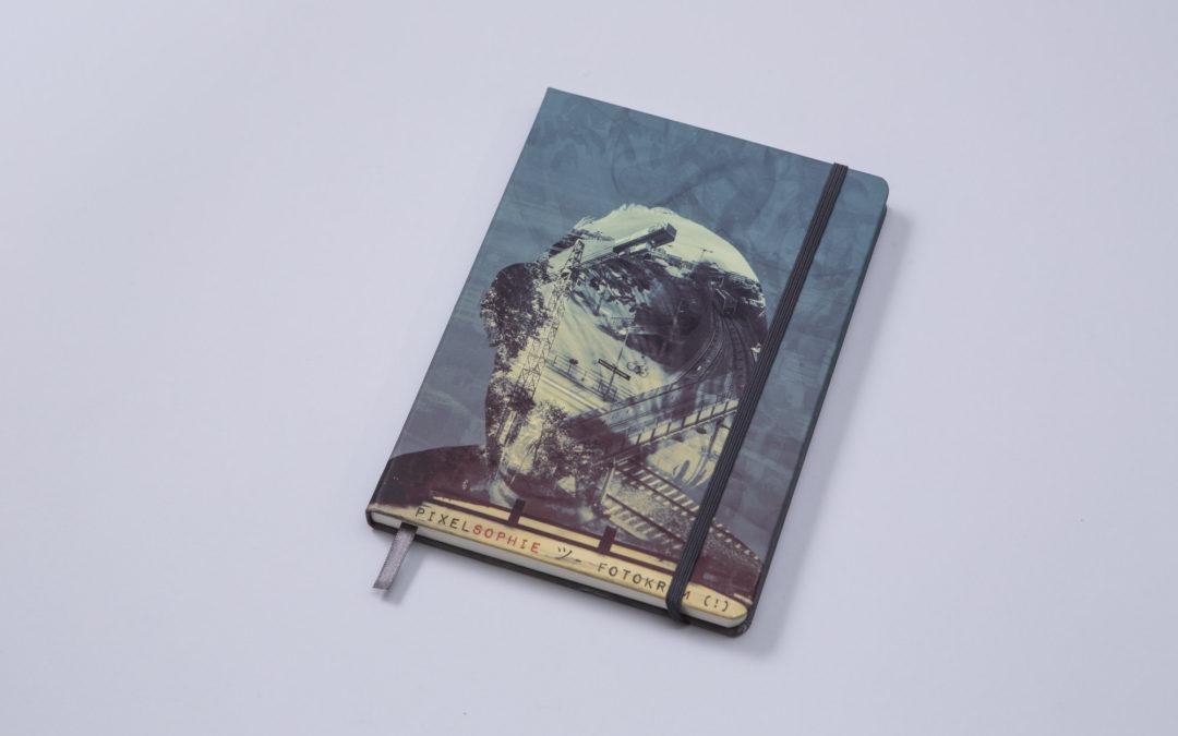 Bookblock Original – dein eigenes Notizbuch bedrucken für 23€
