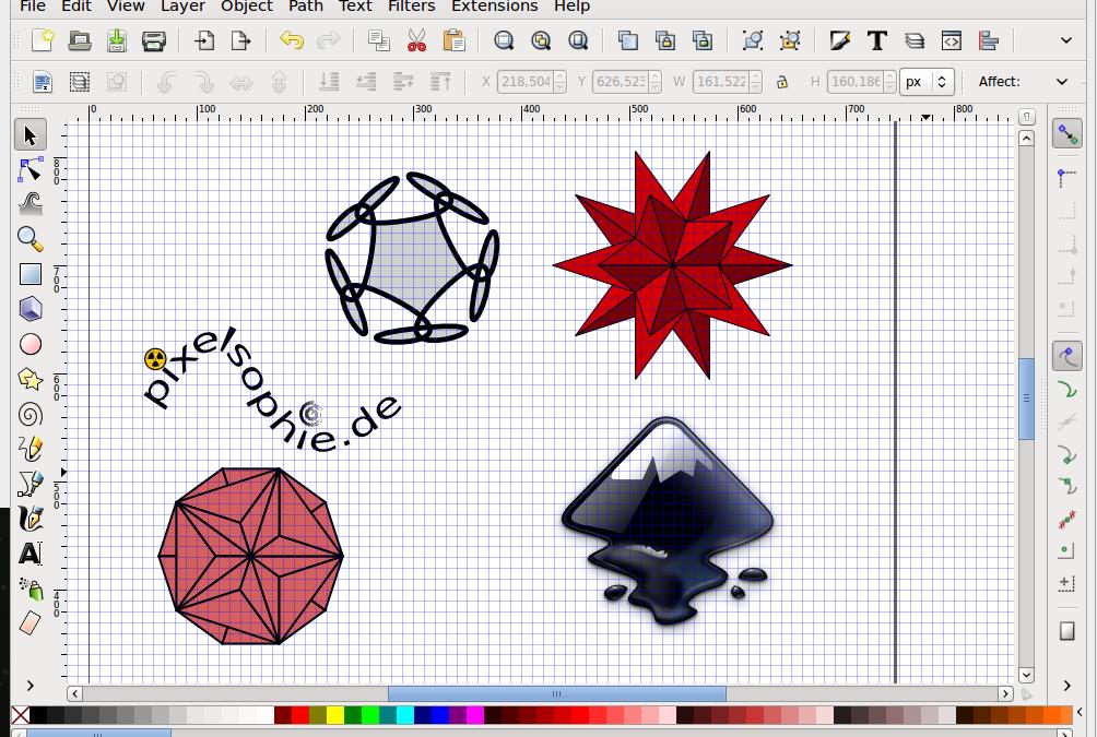 Vektorgrafiken mit Inkscape